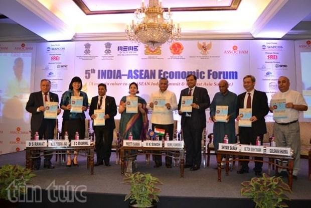 Le Vietnam participe au 5e Forum economique Inde-ASEAN a New Delhi hinh anh 1