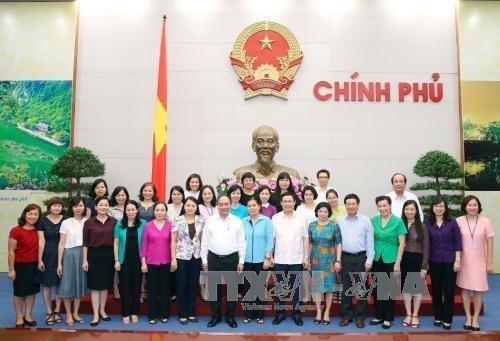 Promotion de la cooperation entre le gouvernement et l'Association des femmes hinh anh 1