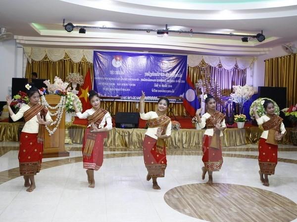 Cloture de la Rencontre d'amitie entre jeunes Vietnam-Laos 2016 hinh anh 1