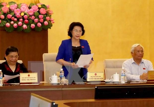 Ouverture de la 50e reunion du Comite permanent de l'Assemblee nationale hinh anh 1