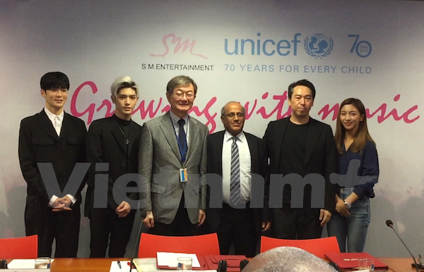 La R.de Coree soutient l'education musicale pour les enfants vietnamiens hinh anh 1