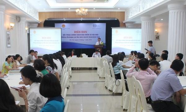 Dialogue sur de nouvelles politiques d'assurance sociale hinh anh 1
