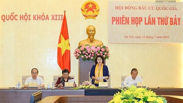 7e reunion du Conseil electoral national hinh anh 1