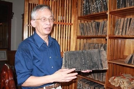 Les tablettes en bois de l'ecole Phuc Giang, un heritage inestimable hinh anh 1