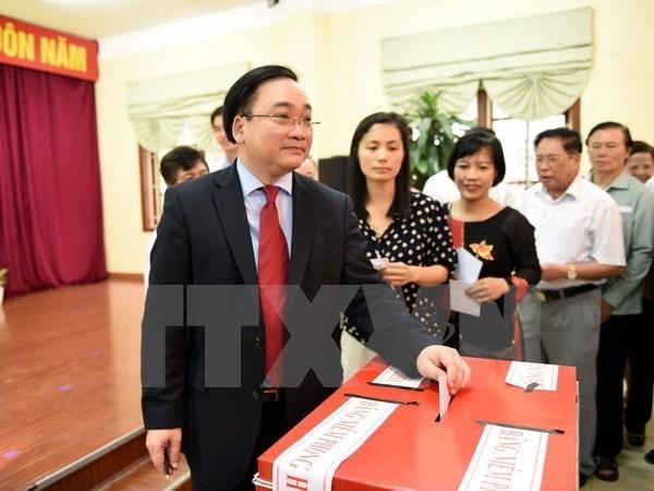 Bilan recapitulatif des elections legislatives et des conseils populaires de tous niveaux hinh anh 1