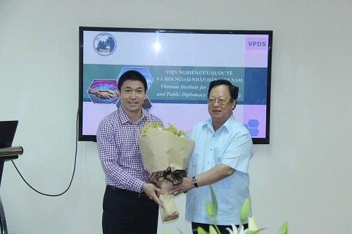 L'Institut des etudes internationales et de la diplomatie populaire du Vietnam voit le jour hinh anh 1