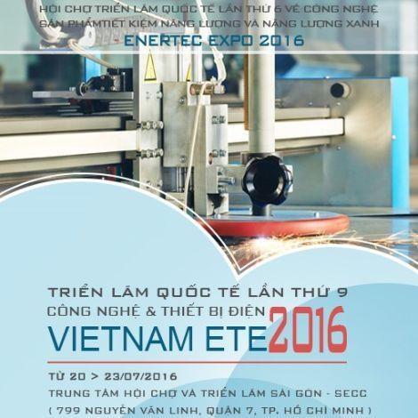 Ouverture de la Vietnam ETE 2016 et de l'Enertec Expo 2016 a HCM-Ville hinh anh 1