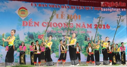 Ouverture de la fete du temple de Choong a Nghe An hinh anh 1
