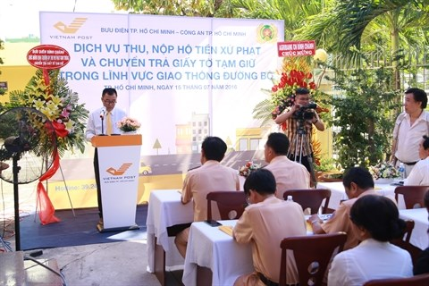 Mise en place d'un nouveau service a la poste a Ho Chi Minh-Ville hinh anh 1