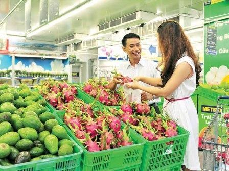 Les Vietnamiens friands de fruits de Thailande et des Etats-Unis hinh anh 1