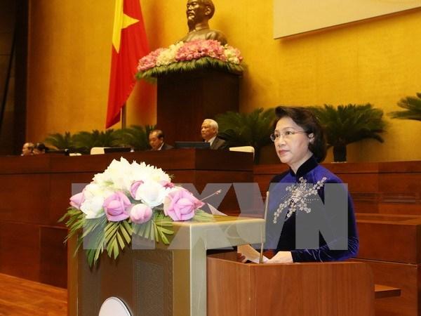 Presentation des candidats aux postes importants de l'organe legislatif hinh anh 1