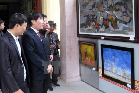 Expo sur les beaux-arts contemporains Vietnam-Republique de Coree hinh anh 1