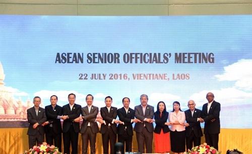 La SOM de l'ASEAN affirme l'importance du renforcement de la solidarite et de l'unite hinh anh 1