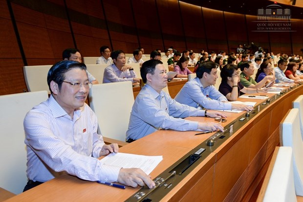 Le president de l'AN (XIVe legislature) va preter serment ce matin hinh anh 1