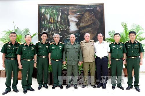 Vietnam-Cuba : dialogue sur la politique de defense hinh anh 1