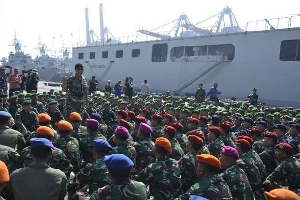 L'Indonesie et la Malaisie entament un exercice militaire conjoint hinh anh 1