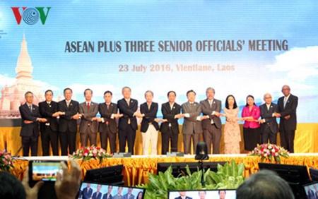 Des reunions de hauts officiels de l'ASEAN + 3 et de l'EAS au Laos hinh anh 1