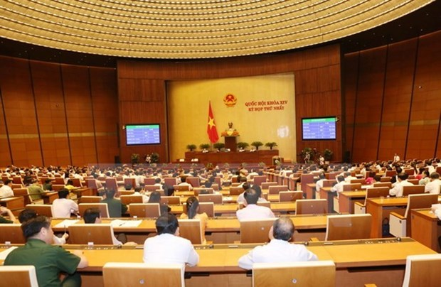 Communique sur la 3e journee de travail de l'Assemblee nationale hinh anh 1
