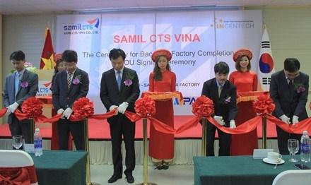 Samil CTS inaugure son usine et son centre de R&D au Vietnam hinh anh 1