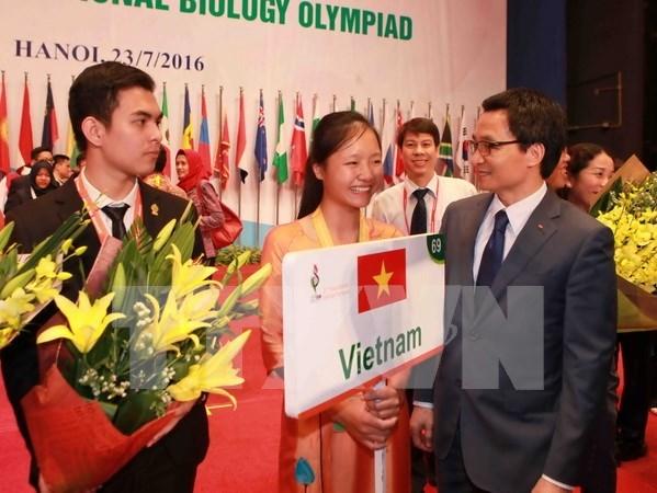 Cloture des IBO 2016 : les quatre Vietnamiens medailles hinh anh 1
