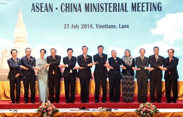 Mer Orientale : l'ASEAN et la Chine adoptent une declaration commune sur la DOC hinh anh 1