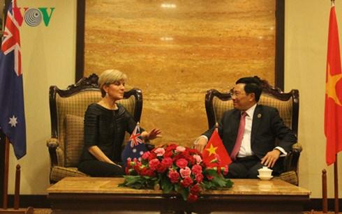 AMM-49: Renforcement des relations diplomatiques entre le Vietnam et des pays hinh anh 3