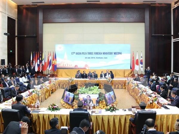 Consolidation de la cooperation ASEAN+3 et du Sommet d'Asie de l'Est hinh anh 1