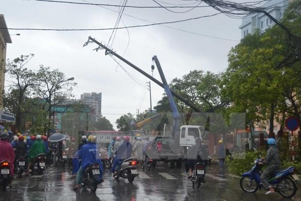 Le typhon Mirinae fait un mort et plusieurs blesses dans des localites du Nord hinh anh 2