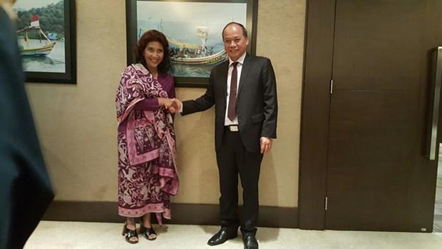 Vietnam et Indonesie cooperent dans les affaires maritimes et la peche hinh anh 1