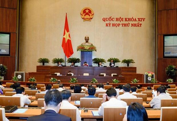 Cloture de la 1ere reunion de la 14e legislature de l'AN hinh anh 1