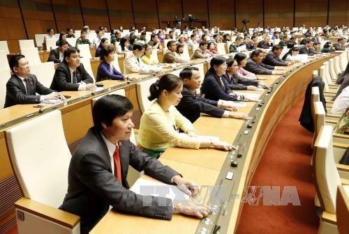 XIVe legislature de l'AN : adoption d'une resolution sur l'arrete des comptes du budget de 2014 hinh anh 1