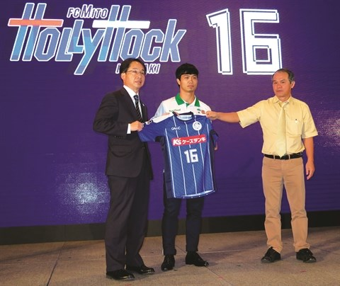 J-League 2: l'attaquant Cong Phuong titulaire contre le club Kanazawa hinh anh 1