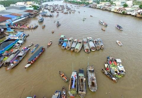 A la (re)decouverte du marche flottant de Cai Rang hinh anh 1