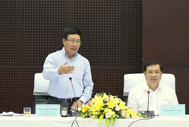 Pham Binh Minh fait le point sur les preparatifs de la semaine du sommet de l'APEC hinh anh 1