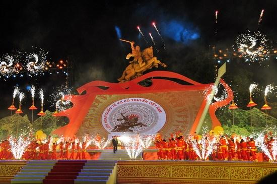 Exposition de photos sur les arts martiaux traditionnels du Vietnam et du monde hinh anh 1