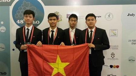 Olympiades internationales de Chimie: deux medailles d'or pour le Vietnam hinh anh 1