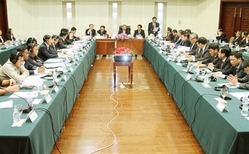 Conference pour les entreprises vietnamiennes du caoutchouc au Cambodge hinh anh 1