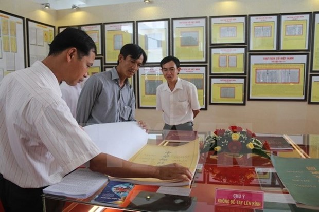 Construction d'une maison d'exposition sur Hoang Sa et Truong Sa a Nha Trang hinh anh 1