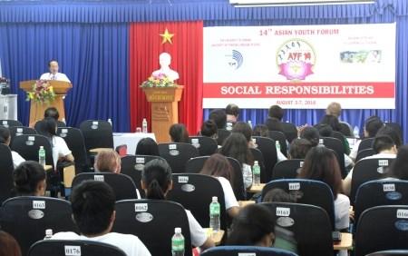 Forum de la jeunesse asiatique a Da Nang hinh anh 1