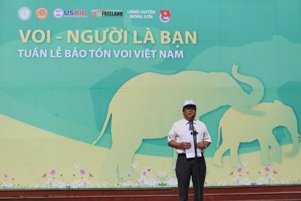 Ouverture de la Semaine de la conservation des elephants a Quang Nam hinh anh 1