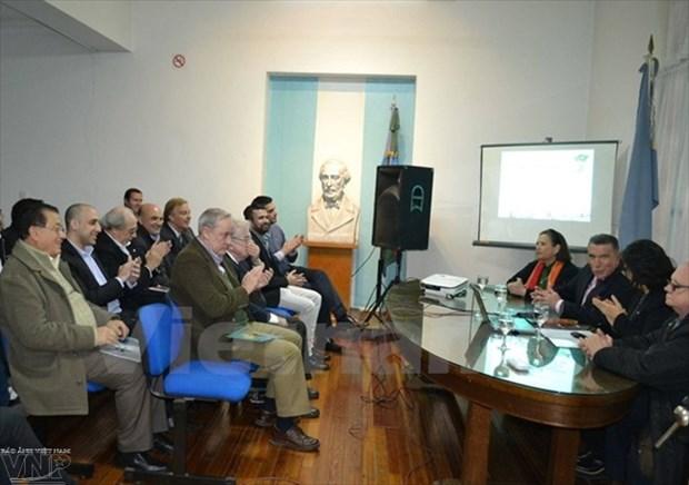 Colloque sur la promotion du commece Vietnam-Argentine hinh anh 1