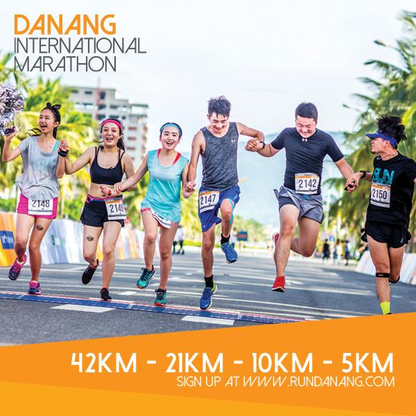 4.000 coureurs de 35 pays au marathon international de Da Nang hinh anh 1