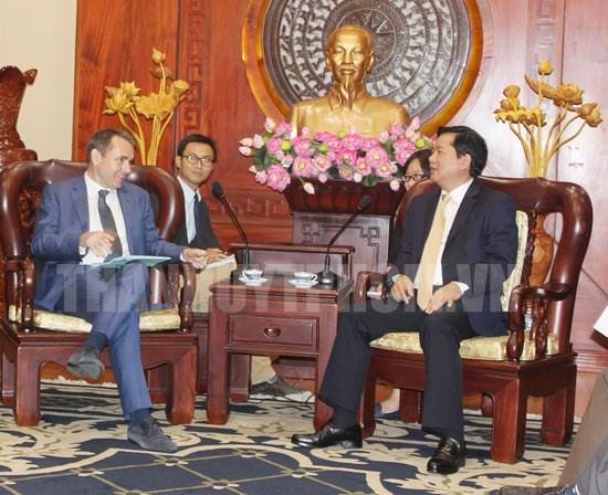 Les entreprises francaises s'interessent aux projets de transport a Ho Chi Minh-Ville hinh anh 1