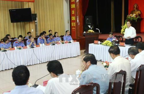 Le chef de l'Etat travaille avec le Parquet populaire supreme hinh anh 1