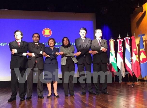 Celebration de la Journee de l'ASEAN en Argentine hinh anh 1