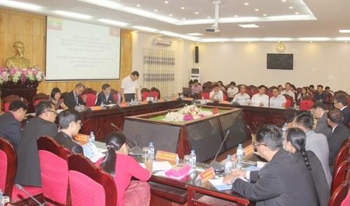 Des officiels birmans se rendent a Ha Nam hinh anh 1