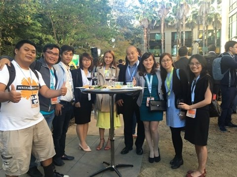 Les Vietnamiens suivent la tendance start-up mondiale hinh anh 1