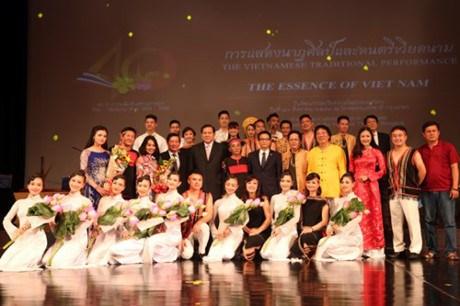 Les couleurs vietnamiennes en Thailande hinh anh 1