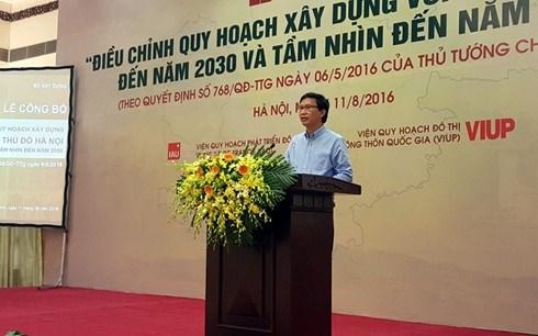 Planification de la region capitale de Hanoi hinh anh 1