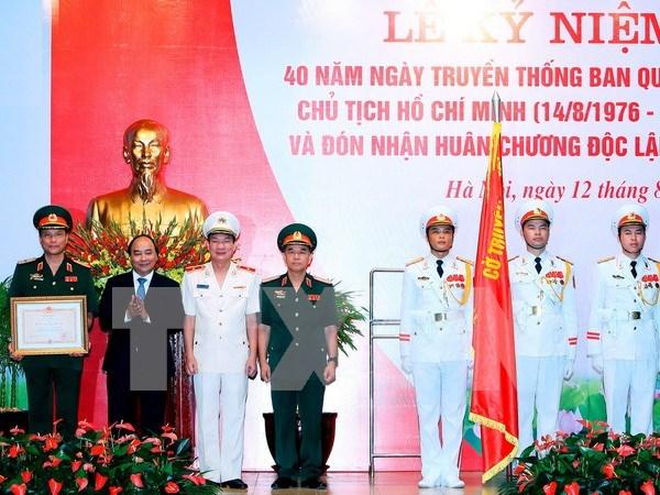 Le Comite de gestion du mausolee du President Ho Chi Minh honore hinh anh 1